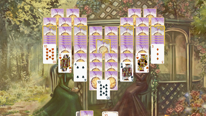 Solitaire Victorian Picnic 2 Screenshot 3
