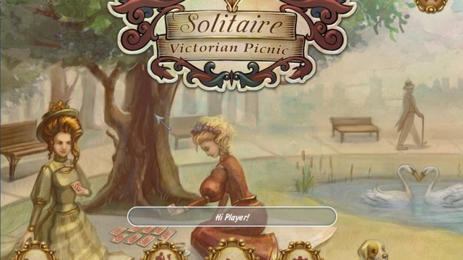 Solitaire: Victorian Picnic Screenshot 1