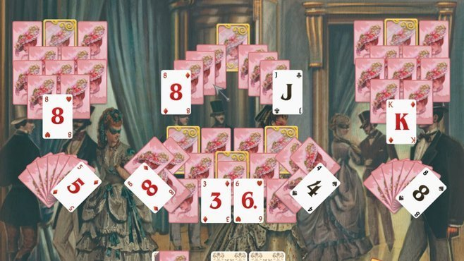 Solitaire: Victorian Picnic Screenshot 5