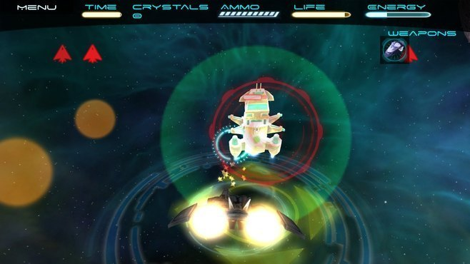 Space Rage 3D - LeapMotion Compatible Screenshot 1