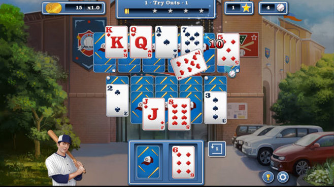 Home Run Solitaire Screenshot 1