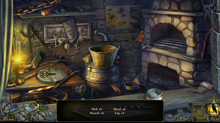 Dark Tales: Edgar Allan Poe's The Oval Portrait Collector's Edition Screenshot 5