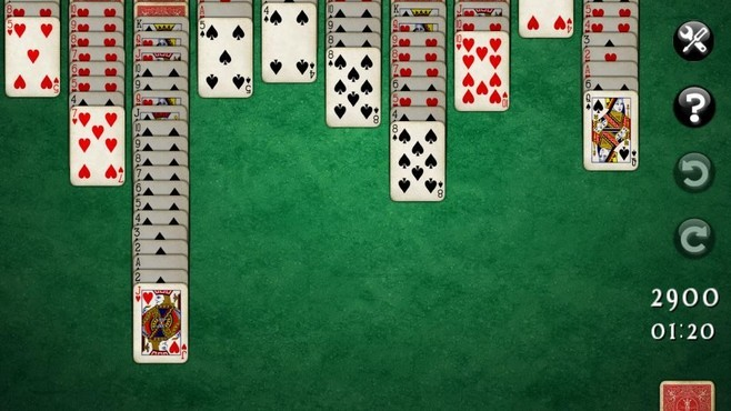 Spider Mania Solitaire Screenshot 5