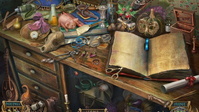 Spirits of Mystery: Amber Maiden Collector's Edition Screenshot 3