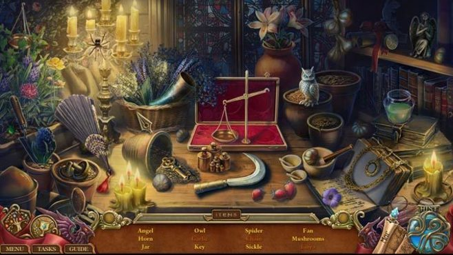 Spirits of Mystery: The Lost Queen Collector's Edition Screenshot 1