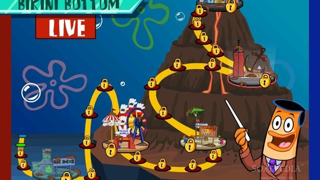 SpongeBob and The Clash of Triton Screenshot 5