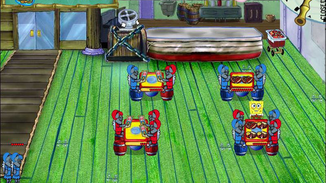 SpongeBob Diner Dash Screenshot 2