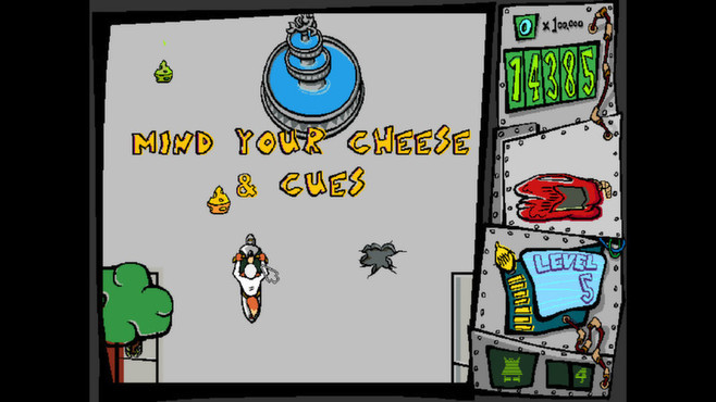 Spy Fox in Cheese Chase Screenshot 3
