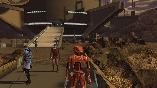 Star Wars: Knights of the Old Republic Screenshot 4