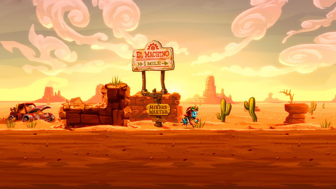 SteamWorld Dig 2 Screenshot 1