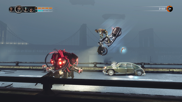 Steel Rats Screenshot 1