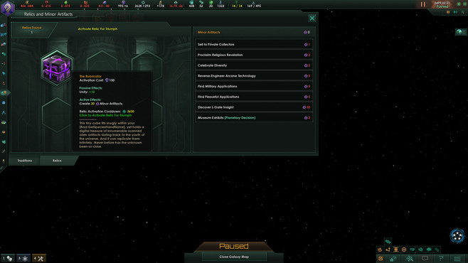 Stellaris: Ancient Relics Story Pack Screenshot 1