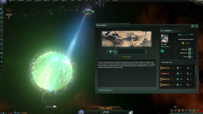 Stellaris: Ancient Relics Story Pack Screenshot 2