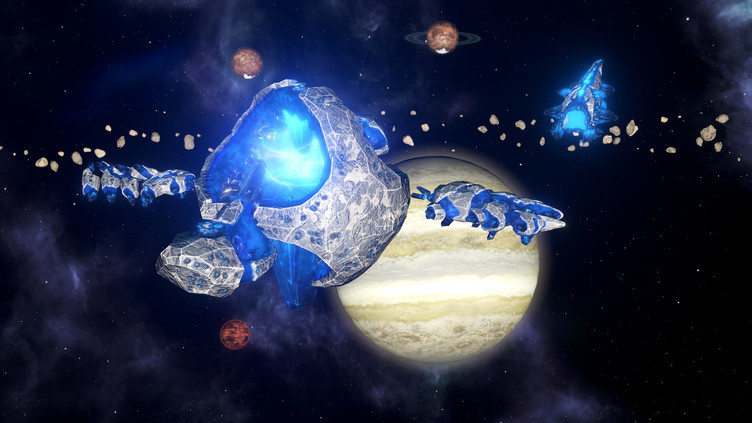 Stellaris: Lithoids Species Pack Screenshot 2