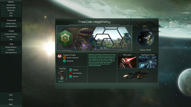 Stellaris: Plantoids Species Pack Screenshot 6