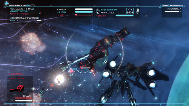 Strike Suit Zero Screenshot 5