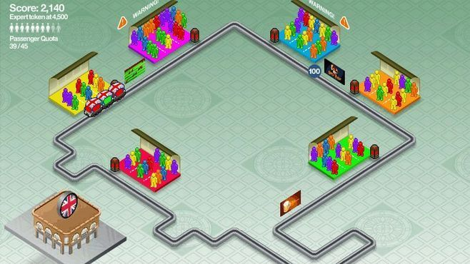 Subway Scramble Screenshot 2