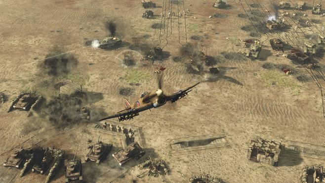 Sudden Strike 4: Africa – Desert War Screenshot 1