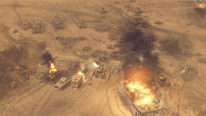 Sudden Strike 4: Africa – Desert War Screenshot 8