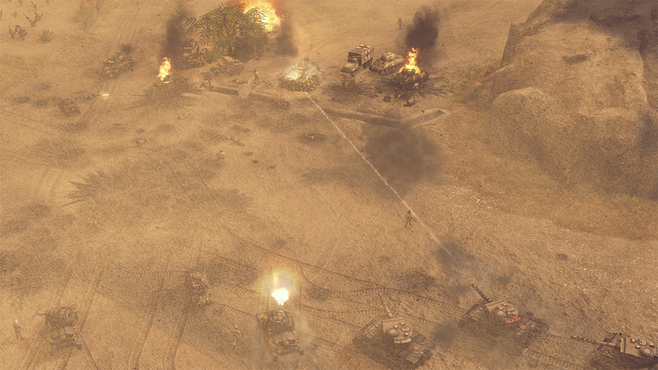 Sudden Strike 4: Africa – Desert War Screenshot 9
