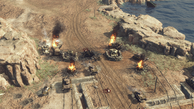 Sudden Strike 4: Africa – Desert War Screenshot 10