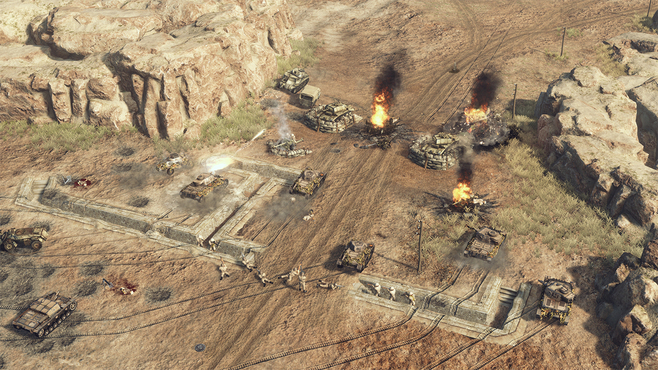 Sudden Strike 4: Africa – Desert War Screenshot 11