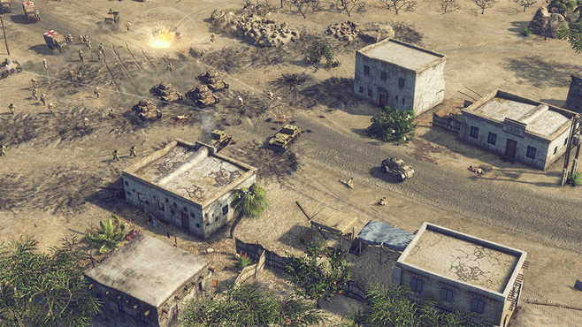 Sudden Strike 4: Africa – Desert War Screenshot 15
