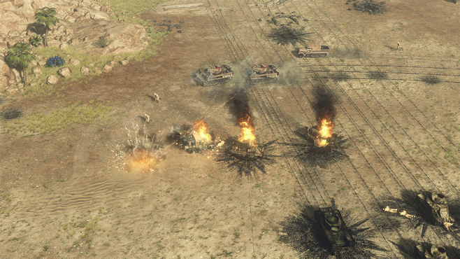 Sudden Strike 4: Africa – Desert War Screenshot 16