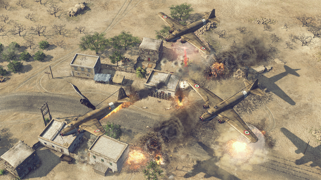 Sudden Strike 4: Africa – Desert War Screenshot 17