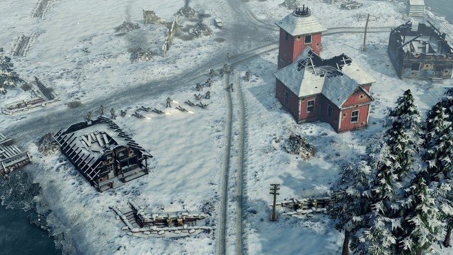 Sudden Strike 4 - Finland: Winter Storm Screenshot 1