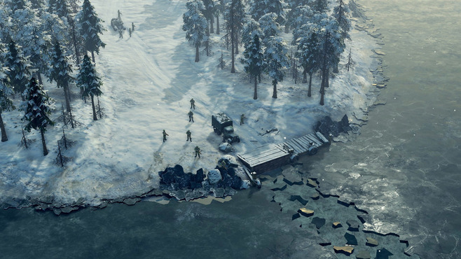 Sudden Strike 4 - Finland: Winter Storm Screenshot 2