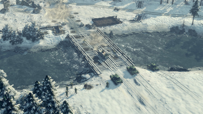 Sudden Strike 4 - Finland: Winter Storm Screenshot 4