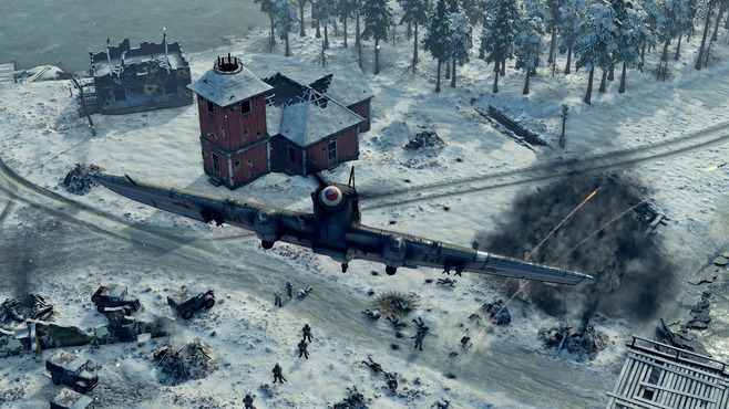 Sudden Strike 4 - Finland: Winter Storm Screenshot 6