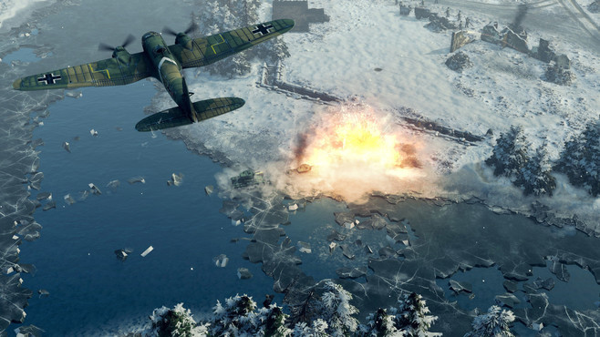 Sudden Strike 4 - Finland: Winter Storm Screenshot 8