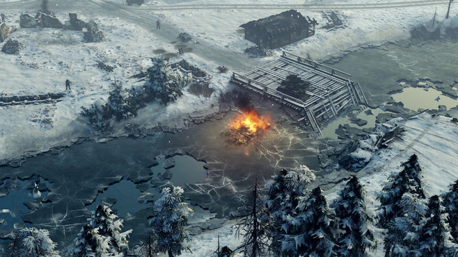 Sudden Strike 4 - Finland: Winter Storm Screenshot 9