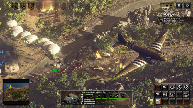 Sudden Strike 4: The Pacific War Screenshot 3
