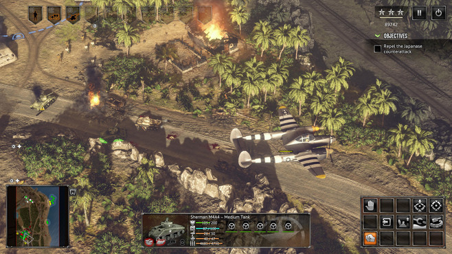 Sudden Strike 4: The Pacific War Screenshot 5
