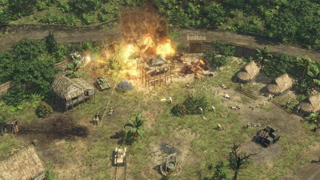 Sudden Strike 4: The Pacific War Screenshot 6