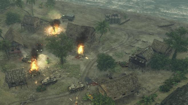 Sudden Strike 4: The Pacific War Screenshot 16