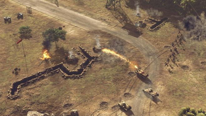 Sudden Strike 4: The Pacific War Screenshot 19