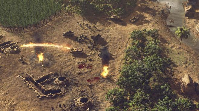 Sudden Strike 4: The Pacific War Screenshot 20