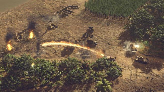 Sudden Strike 4: The Pacific War Screenshot 23