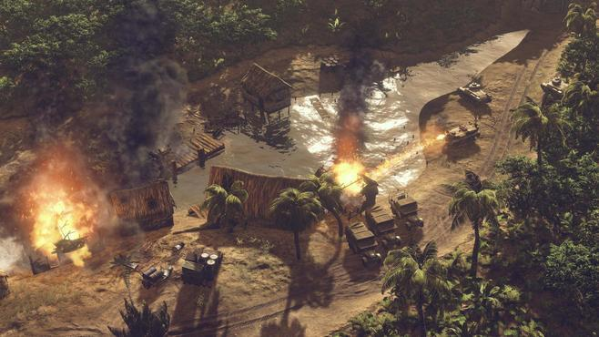 Sudden Strike 4: The Pacific War Screenshot 24