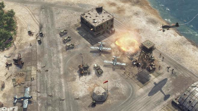 Sudden Strike 4: The Pacific War Screenshot 29