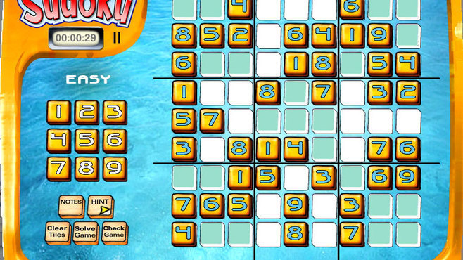 Super Tile Sudoku Screenshot 1