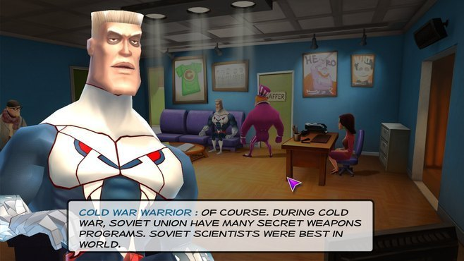 Supreme League of Patriots - Issue 1: A Patriot is Born Screenshot 2