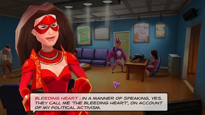 Supreme League of Patriots - Issue 1: A Patriot is Born Screenshot 5