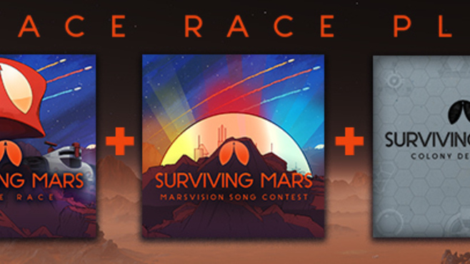 Surviving Mars: Space Race Plus Screenshot 1