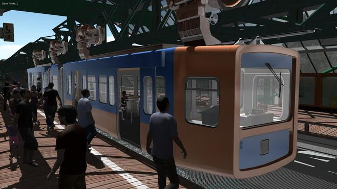 Suspension Railroad Simulator 2013 Screenshot 2
