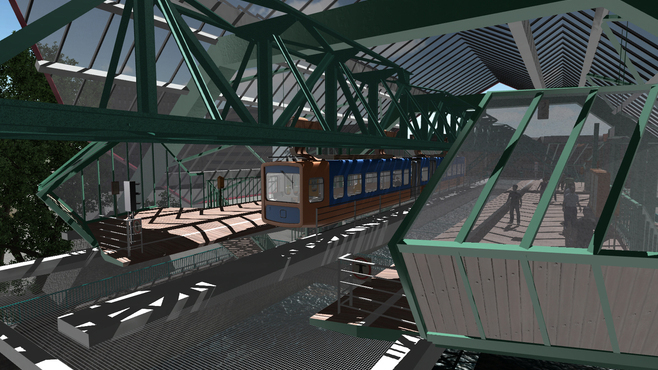 Suspension Railroad Simulator 2013 Screenshot 9